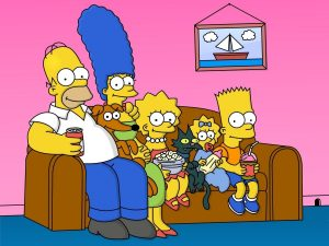 sofa simpsons