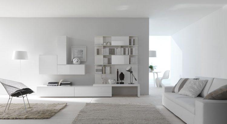 muebles de diseño blanco